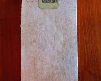 Civil War Era Map of Mississippi ca. 1866