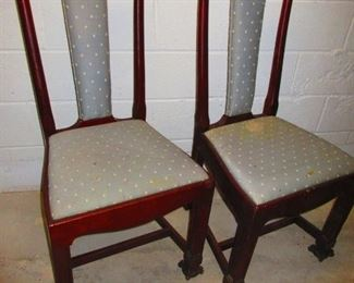 Pair of Early 19th c. Side Chairs