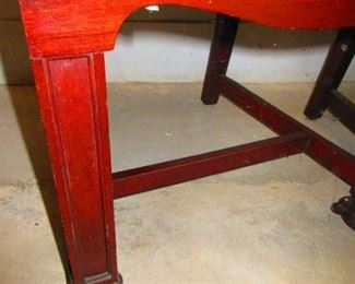 Detail of Pair of Early 19th c. Side Chairs