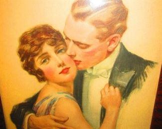 Print of Flapper & Gentleman