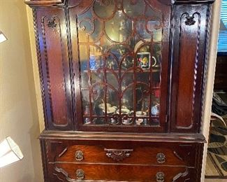 Antique china cabinet two hundred fifty