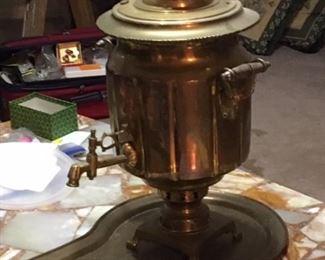 Russian Brass Samivar