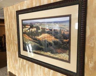 Tuscany framed art
