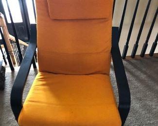 Orange Ikea Arm Chair