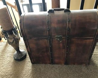 Decor Chest and Candlestick