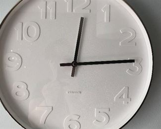 Karlsson White Wall Clock
