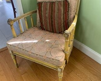 Antique chair pair