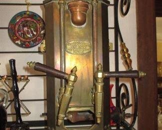 Antiga latoaria marreios brass Espresso Maker