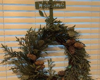 Christmas wreath with hanger