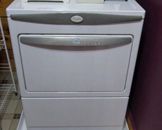 Whirlpool Dryer, new condition