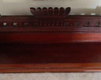 """Antique Wooden Book Holder - 30"""" x 7 1/2"""" x 7 1/2""""            $"""