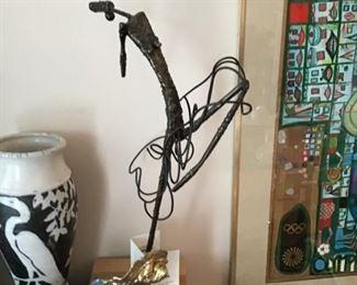 Wire Art Ballerina