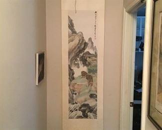 Paper Oriental Scroll
