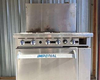 Imperial Four Burner Gas Oven