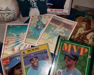 Royals and Chiefs cards