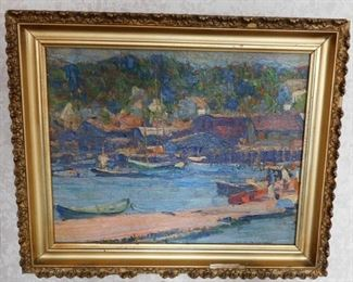 Emile Gruppe Oil Painting