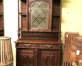 Rare Pair of  19th  Century  French Hunt Cabinets