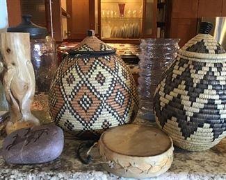 Zulu African Baskets