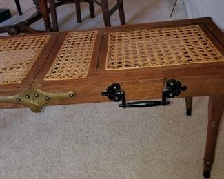 Antique embalming/cooking table