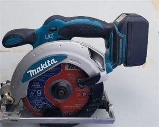 Makita 18v circle saw model BSS610