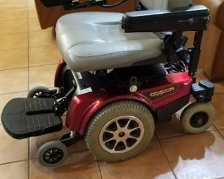 Jazzy 1120 2000 Pride Mobility Power Chair with lift kit