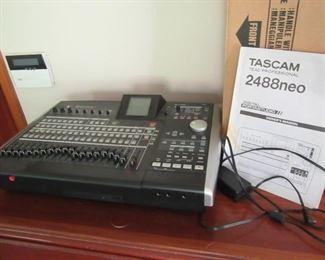 Tascam digital studio