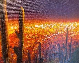 """Desert Lights"" by Charles Pabst"