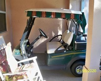 2002 Club Car GAS Golf Cart