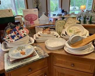 Many kitchen items never used