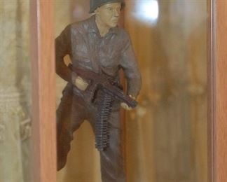 Original clay prototype for the Audie Murphy Statue
