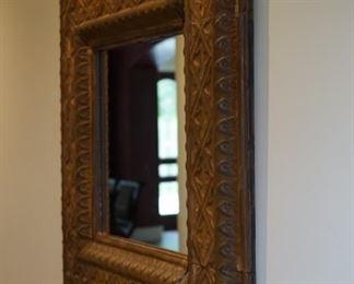 Ceiling tin mirror $100