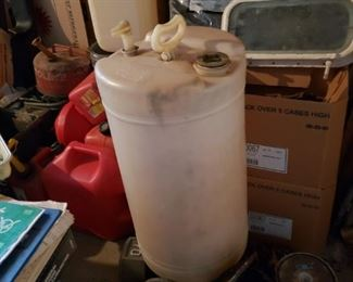 Water jug for boat