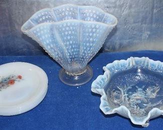 Opalescent glassware