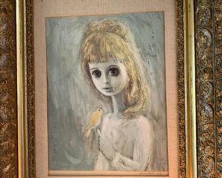 Gunilla painting 1963