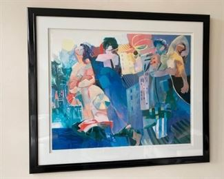 Signed and Numbered Artist Proof Lithograph by Iranian Artist Hessam