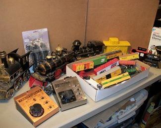 Ho trains...train decanters.....train transformers....train banks