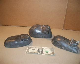 Stone Hippos from Kenya