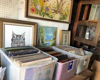 Vinal Records from 1920's to 1980's.