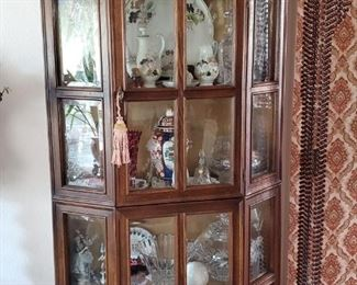 estate curio and crystal