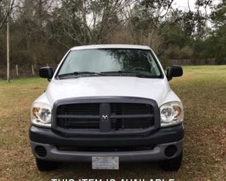 2008 Dodge Ram SXT.  2100 Original Miles.  Asking $7500.  Sold As Is.  Serious inquires can be sent via text to 251.525.0966.