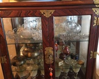 Unique curio cabinet