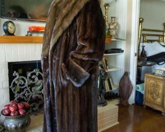 Giorgio Sant Angelo Full Length Mink Coat