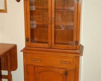Beautiful vintage china cabinet/cupboard!