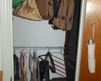 Bedroom closet - luggage