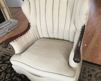 Green Vintage Arm Chair