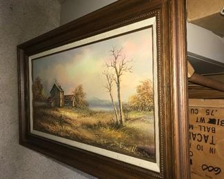 Landscape original art $35  This item is pick up only after the state stay at home mandate has passed.