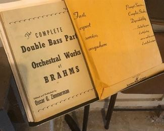 lots of music - exactly what you may expect from a symphony conductor and lifetime musician