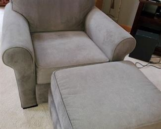 Chair & ottoman, Matching sofa and loveseat