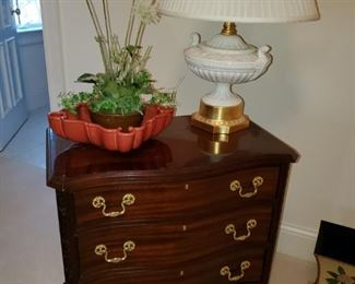 Fredrick Cooper Lamp, Chest by Councill Furniture Co.
