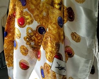 YSL, Yves Saint Laurent scarf